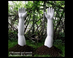 thumb 19 Homme centre de la terre sculpture philosophique Desca jpg